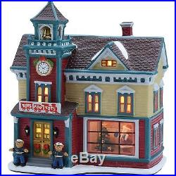 Christmas Holiday Decoration 8.25 Toys For Tots House Collectible Xmas Decor