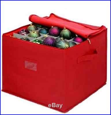 Christmas Holiday Ornament Decoration Protection Storage Organizer Box