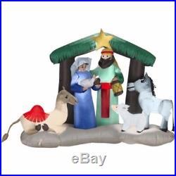 Christmas Holy Nativity Scene Camel Donkey Airblown Inflatable Yard Decoration