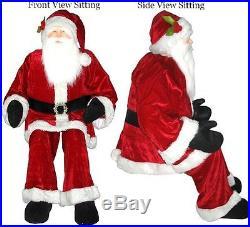 Christmas Huge 6 ft Vintage Decorative Lifesize Santa Claus Decor Home Yard NEW