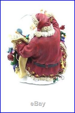Christmas Kirkland Signature Santa Musical Snow Globe with lights