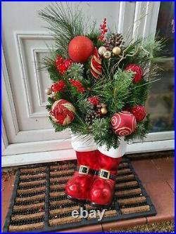 Christmas Large LED Santa Boots Garden Decoration Extra large 91cm tall