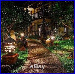 Christmas Laser Light Projector Outdoor Xmas-Holiday Red-Green Remote Landscape