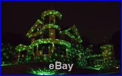 Christmas Laser Light Show Outdoor Indoor Multi Color Party Xmas Projector