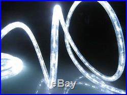 Christmas Lights Decoration Seasonal Led Lighting Outdoor Rope Holiday White