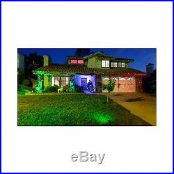 Christmas Lights Outdoor Lazer XMas Holiday Lighting Decoration Garden Green Red