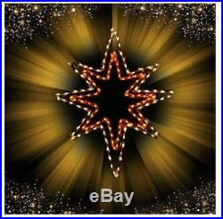 Christmas Nativity Star of Bethlehem Outdoor LED Lighted Decoration Wireframe