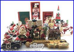 Christmas Ornament Figurines ADLER SILVESTRI Quality Pieces Huge Lot