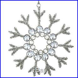 Christmas Ornament Set 6 Glass Iron Holiday Tree Ornaments Xmas Home Decor New