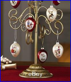 Christmas Ornament Tree Gold Tabletop Display Holder Holiday Decor 20 Tall New