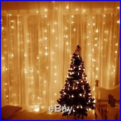 Christmas Outdoor Indoor String Decoration White Warm Fairy Xmas Led Lights