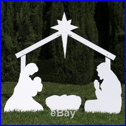 Christmas Outdoor New Nativity Scene Yard Large Set Decoration Outside Lawn