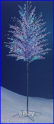 Christmas Philips 60 inch 3 Lighting Effects Pure White/Multi LED Tree NIB