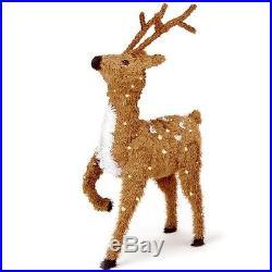 Christmas Reindeer Holiday Figure Deer Decoration Xmas Party Baubles Santa Claus
