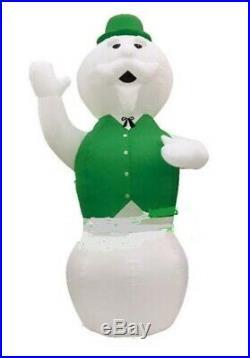 Christmas Santa Rudolph Reindeer Huge 20 Feet Sam Snowman Inflatable Airblown