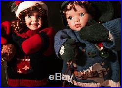 Christmas Snowkids 18 Animated & Singing Winter Figures
