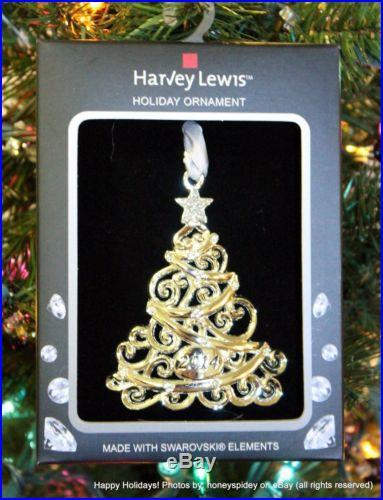 Christmas Tree 2014 Harvey Lewis Swarovski Ornament