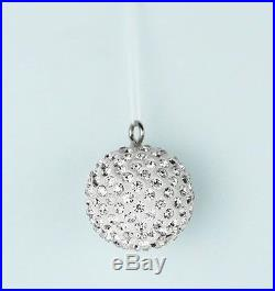 Christmas Tree Baubles 3 Glass Crystal Hanging Balls Xmas Ornaments Party Decor