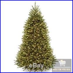 Christmas Tree Clear Light Tall Fake Artificial Stand Holiday Decor Home Indoor