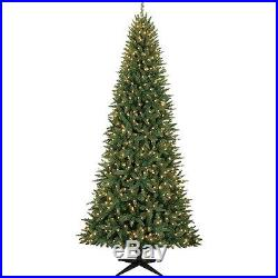 Christmas Tree Decoration Holiday Ornaments Lights Artificial Yard LED 9′ Pine