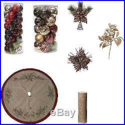 Christmas Tree Decoration Set Ornaments Kit Decor