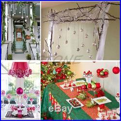 Christmas Tree Decorations Xmas Multi-color Balls Baubles Party Wedding Ornament