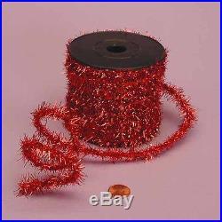 Christmas Tree Garland Tinsel Roll Ribbon Party Decoration 10 Yards Holiday Lot