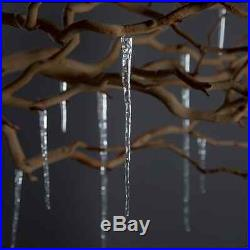 Christmas Tree Hanging Ornaments Decoration Glass Icycle Holiday Home Decor Gift