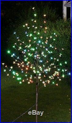 Christmas Tree LED Blossom Garden Wedding Birthday Party Decor Changing Lights