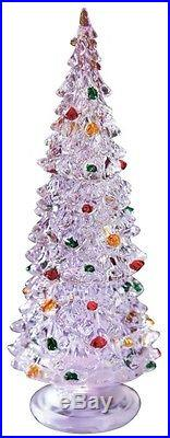 Christmas Tree LED Lights Blink & Changes Color Centerpiece Table