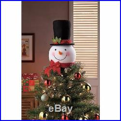 Christmas Tree Topper Snowman Indoor Outdoor Decorations