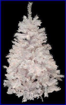 Christmas White Tree Artificial White Xmas Santa Claus Home Holiday 4 feet