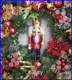Christmas Wreath, Thanksgiving Wreath, Nutcracker Wreath, Christmas Door Wreath