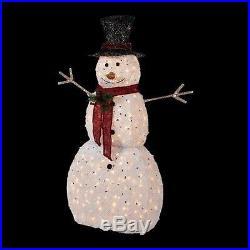 Christmas decorations 5 ft. Pre-Lit Snowman with Hat xmas decor lights