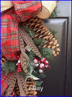 Christmas wreath or Swag
