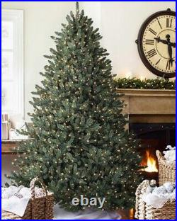 Classic Blue Spruce 4.5ft Candlelight Clear LED Artificial Christmas Tree NEW