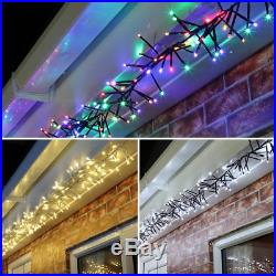 Connectable 24v Outdoor Garden Tree Christmas Party Cluster Fairy String Lights