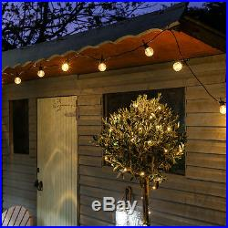 Connectable Outdoor Garden Wedding Festoon Globe Party Fairy String Led Lights