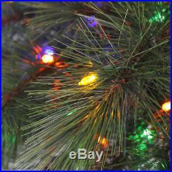 Corona 5′ Palm Tree LED Colorful Motion Activated'O Tannenpalm' Christmas Tree