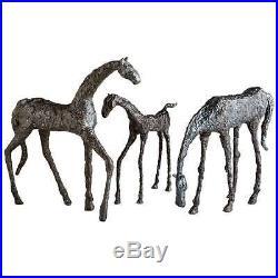 Cyan Design Grazing Horse Sculpture, Bronze 00432