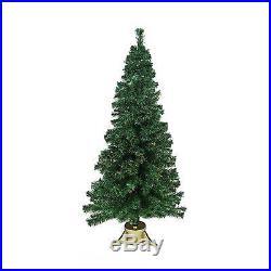 Dak 6′ Pre-lit Color Changing Fiber Optic Artificial Christmas Tree Multi
