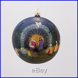 David Strand Designs Glass Star of Bethlehem Christmas Ball Ornament 5