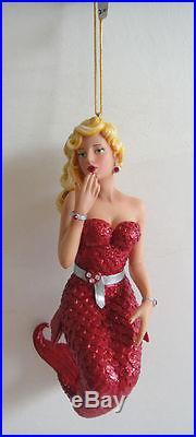 December Diamonds Mermaid LOVIE Marilyn Monroe NEW in BOX