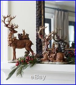 Deer with Woodland Friends