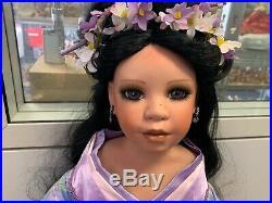 Denise Mc. Millan Porzellan Puppe 92 cm. Top Zustand