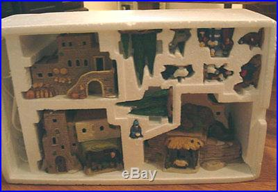 Department 56 1987 Holy Land Little Town Of Bethlehem Set