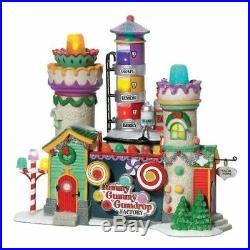 Dept56 Yummy Gummy Gumdrop Factory