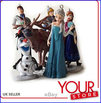 Disney Frozen Christmas Tree Decorations 6pcs Set