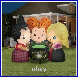 Disney Hocus Pocus Sanderson Sisters 4.5′ Inflatable Airblown Halloween Yard