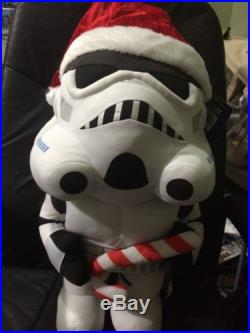 Disney Star Wars Storm Trooper Christmas Porch Greeter 24 Holiday Decor New
